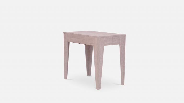 Small grey wooden table